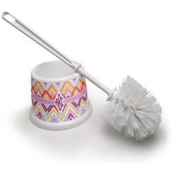 Ikat Chevron Toilet Brush (Personalized)