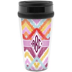 Ikat Chevron Travel Mug (Personalized)