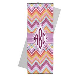 Ikat Chevron Yoga Mat Towel (Personalized)