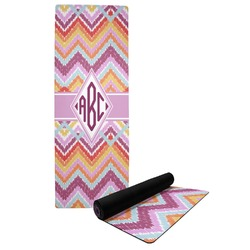 Ikat Chevron Yoga Mat (Personalized)