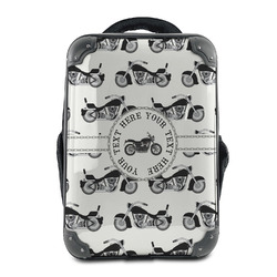 Motorcycle Hard Shell Backpack (Personalized)
