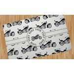 Motorcycle Area Rug (Personalized)