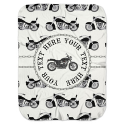 Motorcycle Baby Swaddling Blanket (Personalized)
