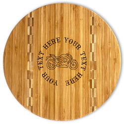 Motorcycle Bamboo Cutting Board (Personalized)