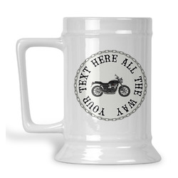 Motorcycle Beer Stein (Personalized)