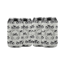 Motorcycle Can Sleeve (12 oz) (Personalized)