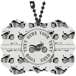 Motorcycle Rear View Mirror Decor (Personalized)
