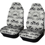 Motorcycle Car Seat Covers (Set of Two) (Personalized)