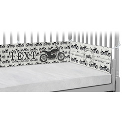 Motorcycle Crib Bumper Pads (Personalized)