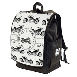 Motorcycle Backpack w/ Front Flap (Personalized)