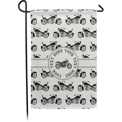 Motorcycle Garden Flag - Single or Double Sided (Personalized)