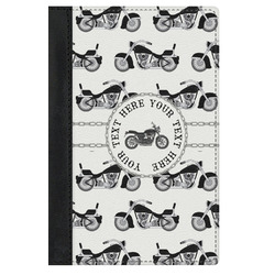 Motorcycle Genuine Leather Passport Cover (Personalized)