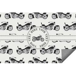 Motorcycle Indoor / Outdoor Rug (Personalized)