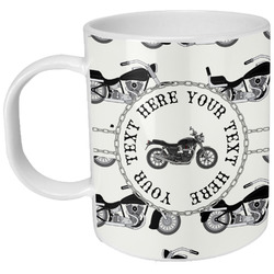 Motorcycle Plastic Kids Mug (Personalized)