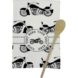 Motorcycle Kitchen Towel - Full Print (Personalized)