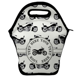 Motorcycle Lunch Bag w/ Name or Text