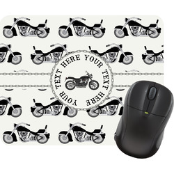 Motorcycle Rectangular Mouse Pad (Personalized)