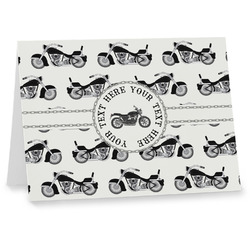 Motorcycle Notecards (Personalized)