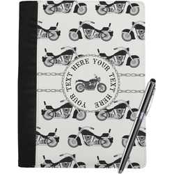 Motorcycle Notebook Padfolio (Personalized)