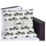 Motorcycle Outdoor Pillow (Personalized)