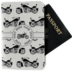 Motorcycle Passport Holder - Fabric (Personalized)