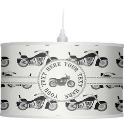 Motorcycle Drum Pendant Lamp (Personalized)
