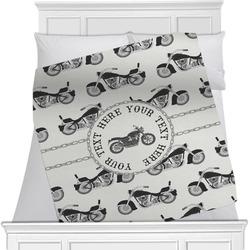 Motorcycle Minky Blanket (Personalized)