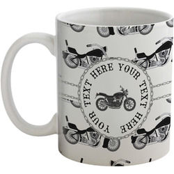 Motorcycle Coffee Mug (Personalized)