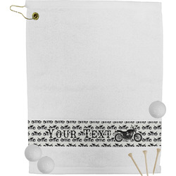 Motorcycle Golf Towel (Personalized)