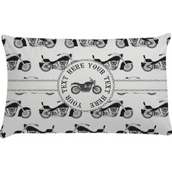 Motorcycle Pillow Case (Personalized)