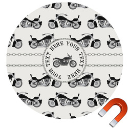 Motorcycle Car Magnet (Personalized)
