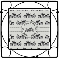 Motorcycle Trivet (Personalized)