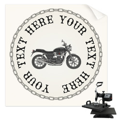 Motorcycle Sublimation Transfer (Personalized)