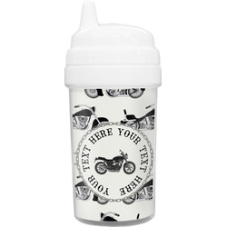 Motorcycle Toddler Sippy Cup (Personalized)