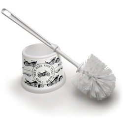 Motorcycle Toilet Brush (Personalized)