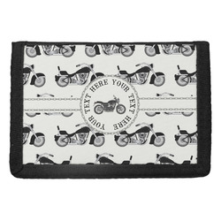 Motorcycle Trifold Wallet (Personalized)