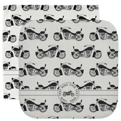 Motorcycle Facecloth / Wash Cloth (Personalized)