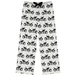 Motorcycle Womens Pajama Pants (Personalized)