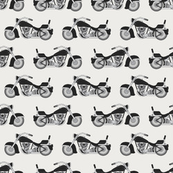 Motorcycle Wrapping Paper (Personalized)