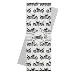 Motorcycle Yoga Mat Towel (Personalized)