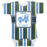BM Stripes Baby Bodysuit (Personalized)