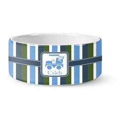 BM Stripes Pet Bowl (Personalized)