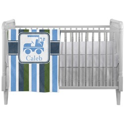 BM Stripes Crib Comforter / Quilt (Personalized)
