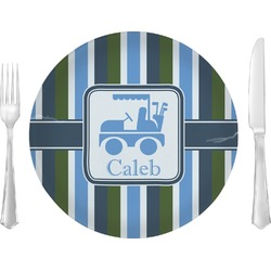 BM Stripes Dinner Plate (Personalized)