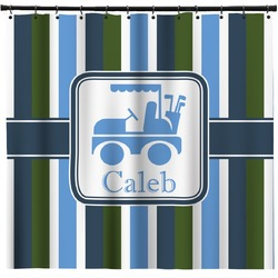 BM Stripes Shower Curtain (Personalized)