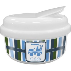 BM Stripes Snack Container (Personalized)