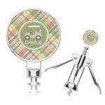 Golfer's Plaid Corkscrew (Personalized)