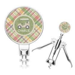 Golfer's Plaid Corkscrew (Personalized)