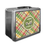 Golfer's Plaid Lunch Box (Personalized)