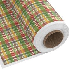 Golfer's Plaid Custom Fabric by the Yard (Personalized)